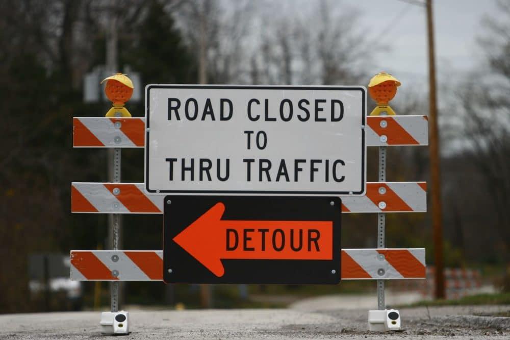 PCL Road Detour