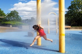 Who doesn't love a spray park and ice cream during a hot Summer day?  We are currently designing drainage, water line servicing and concrete pad layout for a future spray park in the village of Warburg.