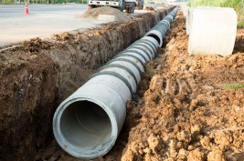 Commission Water Line Repair